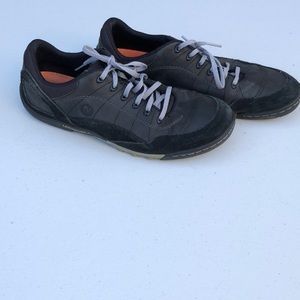 Merrell black leather men's shoes